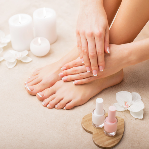 PEDICURE & MANICURE ADD ON SERVICES